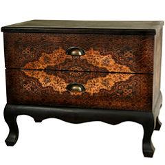 Oriental Furniture Olde-Worlde Euro Accent Cabinet