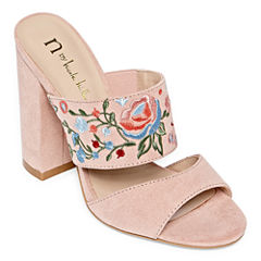 Nicole By Nicole Miller Leah Womens Mules