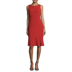 Worthington Sleeveless Sheath Dress