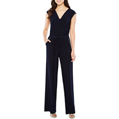 Emma And Michele Short Sleeve Jumpsuit
