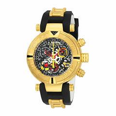 Invicta Unisex Black Strap Watch-22737