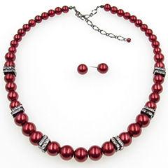 Vieste Rosa Womens 2-pc. Brass Jewelry Set