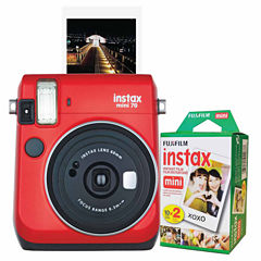 Fujifilm Instax Mini 70 Instant Photo Camera Bundle