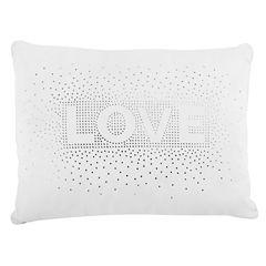 Frank And Lulu Love Sequin Rectangular Throw Pillow