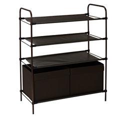 Household Essentials Craft and Shoe Storage Unit