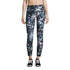 Xersion High Rise 7/8 Printed Workout Leggings