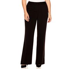 Liz Claiborne® Curvy Elizabeth Secretly Slender Bootcut Leg Pants-Plus (32.5