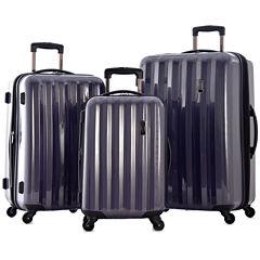 Titan 3-pc. Expandable Hardside Spinner Upright Luggage Set