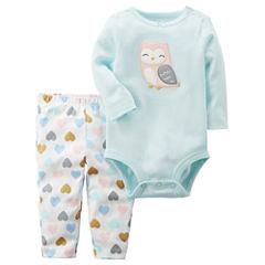 Carter's 2-pc. Animal Pant Set Baby Girls
