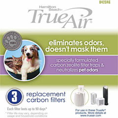 Hamilton Beach True Air Replacement Carbon Filter 3 Pack