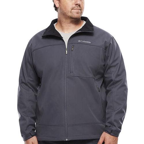 Columbia® Smooth Spiral Softshell Jacket - Big &Tall