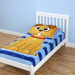 As Seen On TV ZippySack™ Puppy Fitted Fleece Blanket