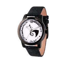 Disney Mickey and Friends Womens Black Strap Watch-Wds000351