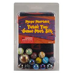 MegaFun USA Table Top Marble Game Mat Set