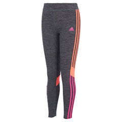 adidas Knit Leggings - Toddler Girls