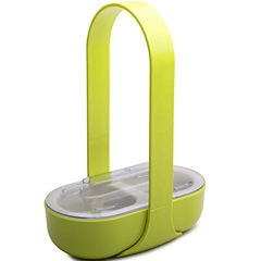 Zak Designs® 2-Section Serving Caddy with Handle & Lid