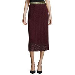 Worthington Lace Pleated Skirt