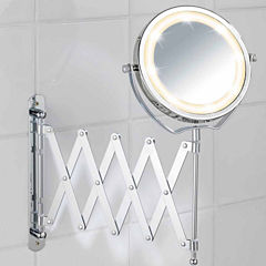 Wenko Wall Cosmetic Mirror With LED Light, Brolo