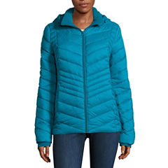Xersion Heavyweight Packable Puffer Jacket-Tall