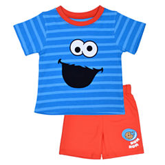 2-pc. Sesame Street Short Set Infant Boys