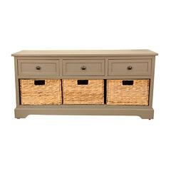 Decor Therapy Montgomery Storage Bench