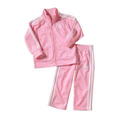 adidas 2-pc. Pant Set Baby Girls
