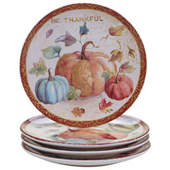 Certified International My Fall Inspiration 4-pc. Dessert Plate