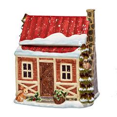 Certified International Winter Lodge Cookie Jar