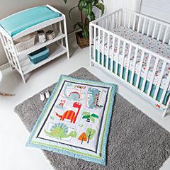 Trend Lab Dinosaur Roar 3-pc. Crib Bedding Set