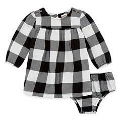 Arizona Dress Long Sleeve A-Line Dress - Baby Girls