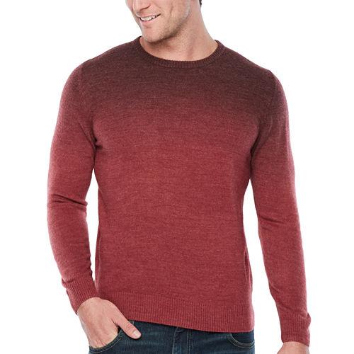 ARGYLECULTURE Crew Neck Long Sleeve Pullover Sweater