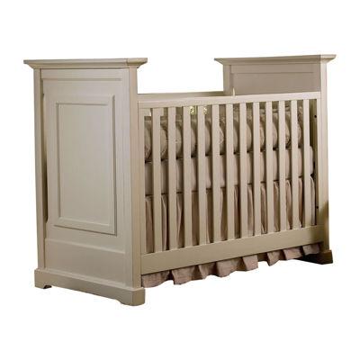 Muniré Furniture Chesapeake Classic Crib   Light Gray