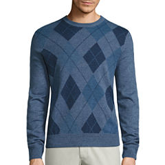 Dockers Crew Neck Long Sleeve Pullover Sweater