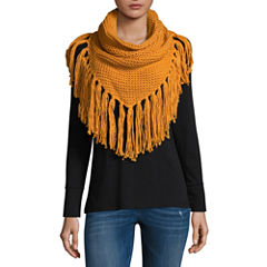 Mixit Fringe Infinity Cold Weather Scarf