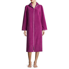 Adonna Long Sleeve Fleece Robe
