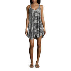 Porto Cruz Animal Swimsuit Cover-Up Dress