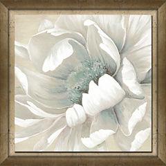Winter Blooms II Framed Canvas Art