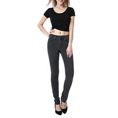 phistic Women's Vanessa Zip Front Skinny Jeans