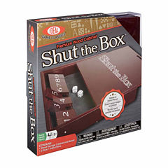 Ideal Shut The Box Board Game