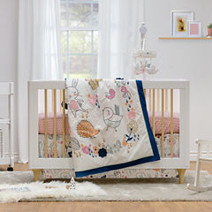 Living Textiles Stella Crib Bedding Set