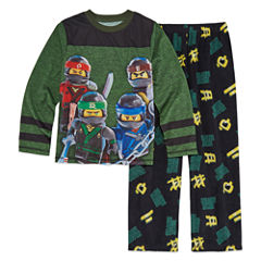 Lego Ninjago 2 Piece Pajama Set - Boys 4-20