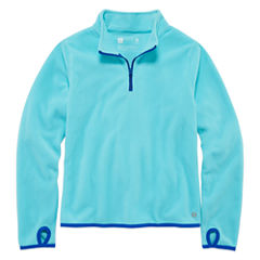 Xersion Half Zip Tech Fleece Pullover - Girls' 7-16 and Plus