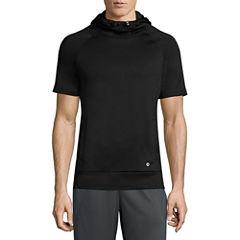 Xersion Short Sleeve Training Fleece Hoodie