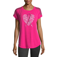 Xersion Breast Cancer Awareness Dolman T-Shirt
