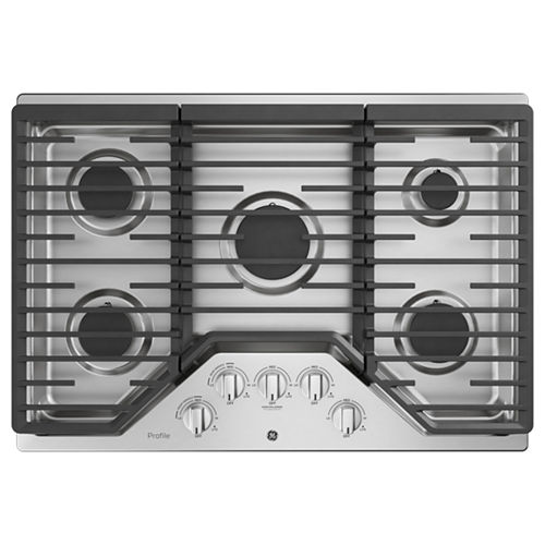 GE Profile™ Series 30 Built-In Gas Cooktop