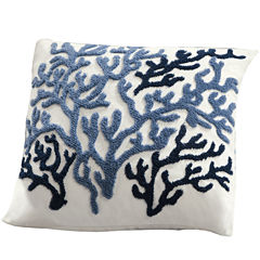 Harbor House Beach House Square Decorative Pillow