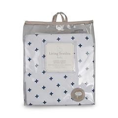 Living Textiles Piper Crib Sheet