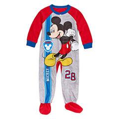 Disney Mickey Mouse One Piece Pajama-Toddler Boys