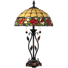 Dale Tiffany™ Rose Table Lamp