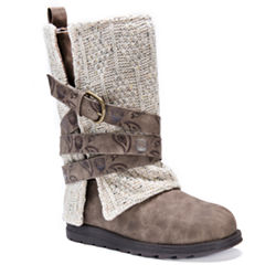 Muk Luks Nikki Womens Water Resistant Winter Boots